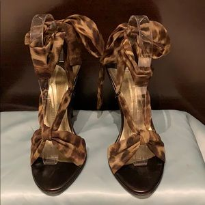 BCBG MaxAzria Wrap Sandals